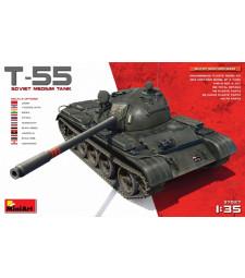 1:35 T-55 Soviet Medium Tank