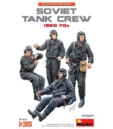 1:35 1:35 SOVIET TANK CREW 1960-70s - 5 figures