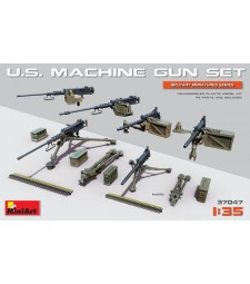 1:35 U.S. Machine Gun Set (with photo-etched parts)