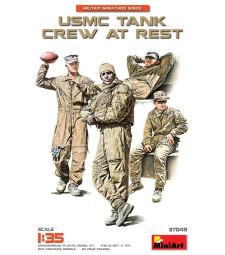 1:35 USMC Tank Crew at Rest - 4 figures