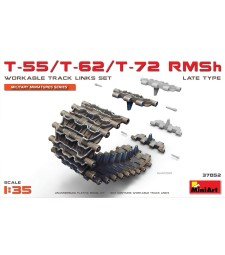 1:35 T-55/T-62/T-72 RMSh Workable Track Links Set Late Type