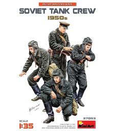 1:35 Soviet Tank Crew 1950s