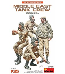 1:35 Middle East Tank Crew 1960-70s