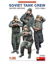 1:35 Soviet Tank Crew 1970-1980s. Winter Uniform