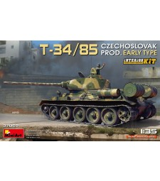 1:35 T-34/85 Czechoslovak Prod. Early Type. Interior Kit