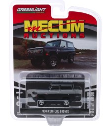 Mecum Auctions Collector Cars Series 4 - 1968 Ford Icon Bronco (Houston 2019) Solid Pack