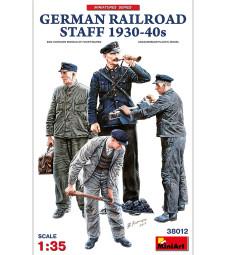 1:35 German Railroad Staff 1930-40s