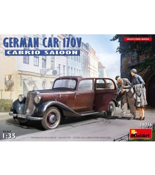 1:35 German Car 170V Cabrio Saloon