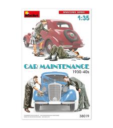 1:35 Car Maintenance  1930-40s