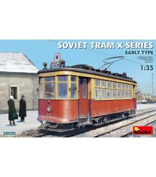 1:35 Soviet Tram X-Series. Early Type