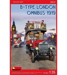 1:35 B-Type London Omnibus (1919)