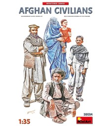 1:35 Afghan Civilians - 5 figures