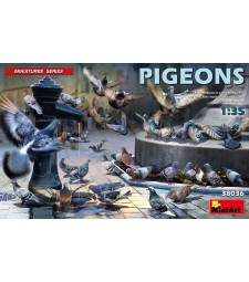 1:35 Pigeons - 36 figures