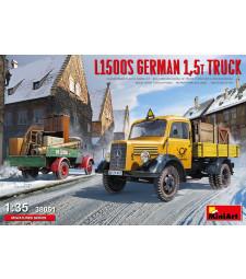 1:35 L1500S German 1,5t Truck
