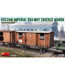 1:35 Russian Imperial Railway Covered Wagon