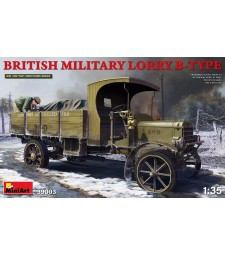 1:35 British Military Lorry B-Type