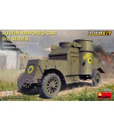 1:35 Austin Armored Car 3rd Series: Ukrainian, Polish,  Georgian, Romanian Service. Interior Kit