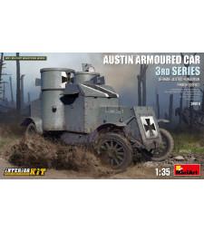 1:35 Austin Armoured Car 3rd Series: German, Austro-Hungarian, Finnish Service. Interior Kit