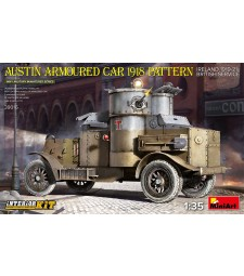 1:35 Austin Armoured Car 1918 Pattern. Ireland 1919-21. British Service. Interior Kit