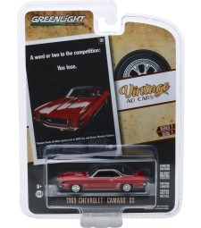 """Vintage Ad Cars Series 1 - 1969 Chevrolet Camaro SS """"A Word Or Two To The Competition: You Lose."""" Solid Pack"""