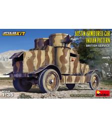 1:35 Austin Armored Car Indian Pattern. British Service. Interior Kit