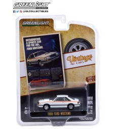 """Vintage Ad Cars Series 4 - 1980 Ford Mustang """"Introducing A Sports Car For The 80's. Ford Mustang"""" Solid Pack"""