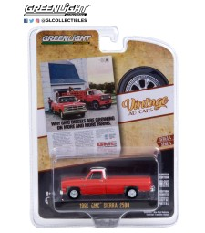 """Vintage Ad Cars Series 4 - 1984 GMC Sierra 2500 """"Why GMC Diesels Are Growing On More And More Farms"""" Solid Pack"""