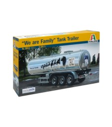 "1:24 CLASSIC TANK TRAILER ""We are family"""