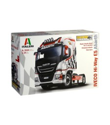 "1:24 IVECO HI-WAY E.5 ""ABARTH"" ShowTrucks"