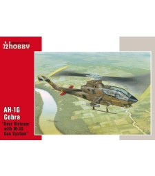 "1:72 AH-1G Cobra ""Over Vietnam with M-35 Gun Syste"