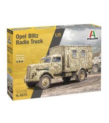 1:35 OPEL BLITZ RADIO TRUCK