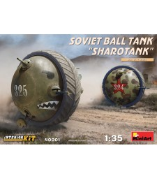 1:35 Soviet Ball Tank Sharotank Interior Kit