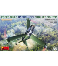 1:35 Focke Wulf Triebflugel (VTOL) Jet Fighter