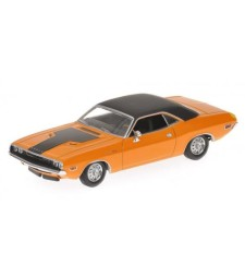 DODGE CHALLENGER - 1970 - ORANGE L.E. 1296 pcs.