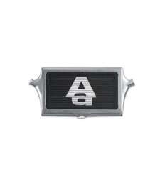 "INTERCOOLER CARD HOLDER (WHITE ""AA""LOGO / BLACK PLATE)"