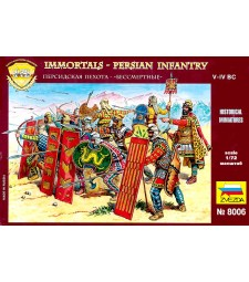 1:72 Persian Infantry (re-release) - 42 figures