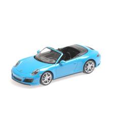 PORSCHE 911 (991.2) CARRERA 4S CABRIOLET - 2017 - BLUE