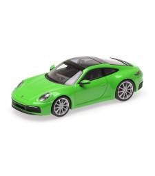 PORSCHE 911 (992) CARRERA 4S - 2019 - GREEN