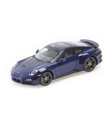 PORSCHE 911 (992) TURBO S - 2020 - BLUE METALLIC