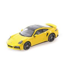 PORSCHE 911 (992) TURBO S - 2020 - YELLOW