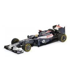 WILLIAMS F1 TEAM RENAULT FW34 - PASTOR MALDONADO - 2012