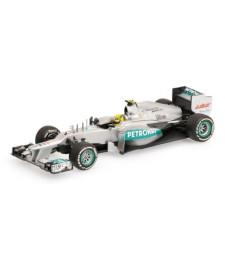 MERCEDES AMG PETRONAS F1 TEAM W03 - ROSBERG - 1ST WIN - 2012 L.E. 2016 p.
