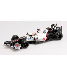 SAUBER F1 TEAM FERRARI C31 - KAMUI KOBAYASHI - 3RD PLACE JAPAN GP - 2012 L.E. 1824 pcs.