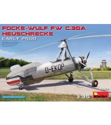 1:35 Focke-Wulf Fw C.30A Heuschrecke. Early Prod
