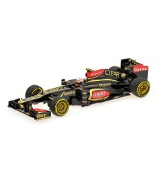 LOTUS F1 TEAM RENAULT E21 - ROMAIN GROSJEAN - 2013