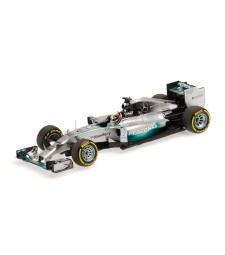 MERCEDES AMG PETRONAS F1 TEAM W05 - LEWIS HAMILTON - WINNER ABU DHABI GP 2014 L.E. 1440 pcs.