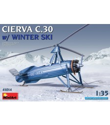 1:35 Cierva C.30 with Winter Ski