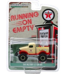 Running on Empty Series 8 - 1941 Military 1/2 Ton 4x4 - Texaco Solid Pack