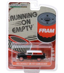 Running on Empty Series 8 - 1955 Chevrolet One Fifty Sedan Delivery - FRAM Oil Filters Solid Pack