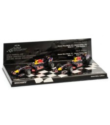 DOUBLE SET - RED BULL RACING RENAULT RB6 -2010 L.E. 2560pcs.